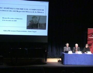 L'AEU presenta nou president en l'homenatge al compositor Isaac Albéniz