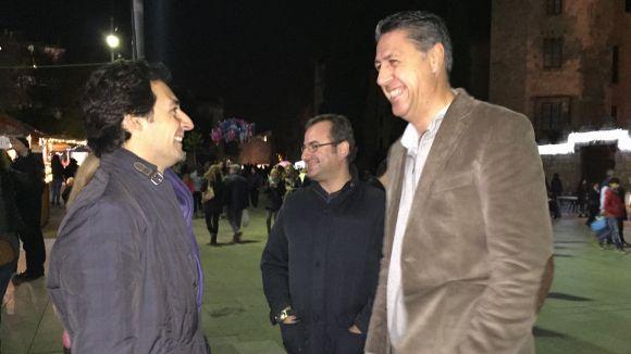Xavier García Albiol amb Álvaro Benejam