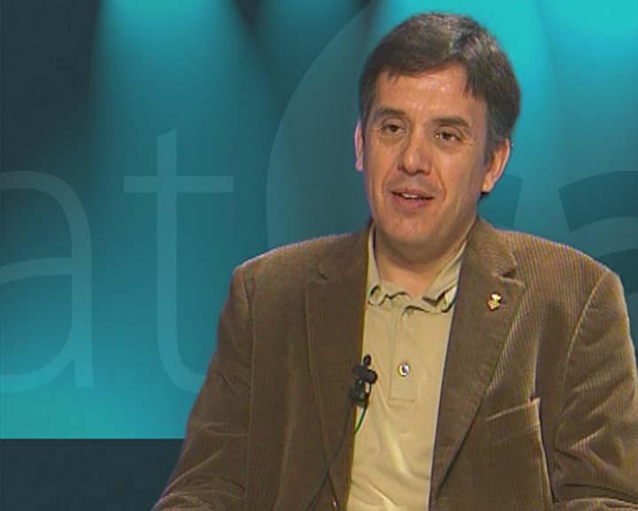 Lluís Recoder, orgullós pel premi RAC a Ràdio Sant Cugat