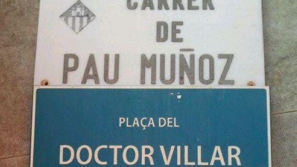 Arran retira plaques de carrers amb noms d'alcaldes franquistes de Sant Cugat