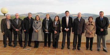 Un sopar dóna el tret de sortida als actes descentralitzats de la cimera europea a la comarca