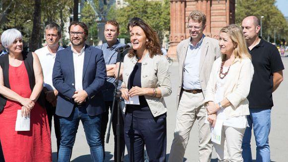 Conesa i altres alcaldes independentistes criden a la mobilització ciutadana per a la Diada