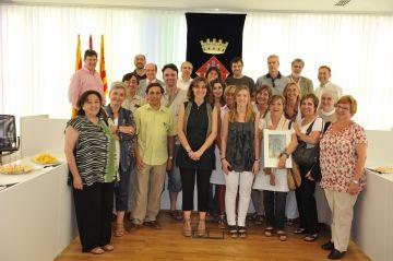 L'alcaldessa felicita els directors dels centres escolars per la feina del curs