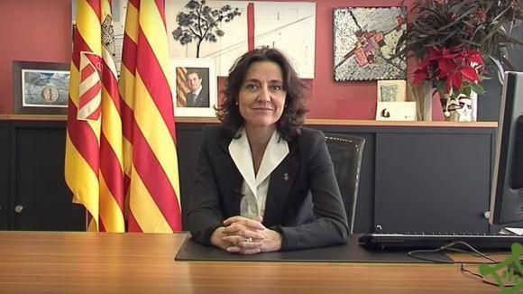 Cugat.cat et porta el missatge de Nadal de l'alcaldessa
