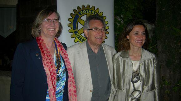 Víctor Alexandre, distingit amb el Paul Harris del Rotary Club