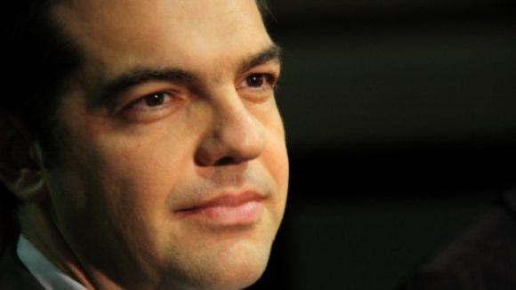 Oliveres i Romeva signen el manifest de suport al líder grec Tsipras