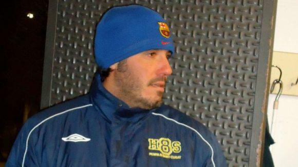 Àlex Pando havia jugat i entrenat a la Penya Blaugrana Sant Cugat / Font: Andrés Sánchez