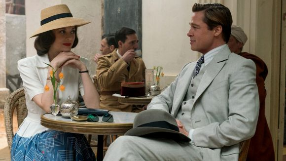 La història d'amor entre Brad Pitt i Marion Cotillard a 'Aliados' protagonitza la cartellera de Sant Cugat