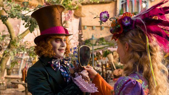 Johnny Depp i Mia Wasikowska protagonitzen el film