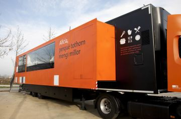 El Bus Alícia, projecte del xef Ferran Adrià, visitarà Sant Cugat