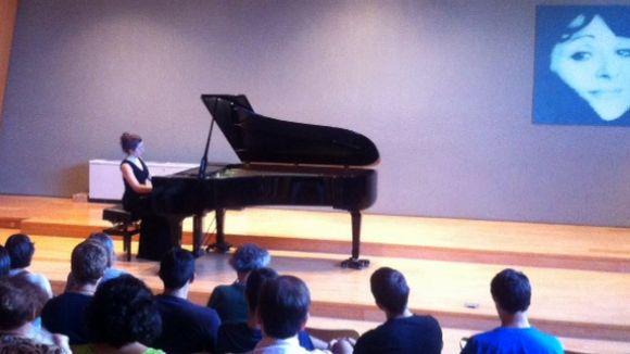 La pianista Alícia Daufí ofereix el seu primer concert en solitari a Sant Cugat