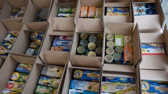 El Viaró recull 1.400 quilos d'aliments per a famílies de Sant Cugat i Barcelona