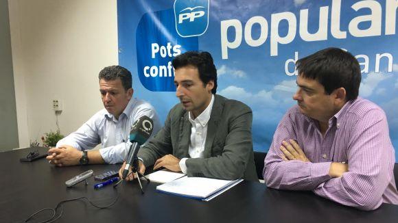 El PP incorpora a la llista municipal exregidors com Bergua, Tizón i Carreras