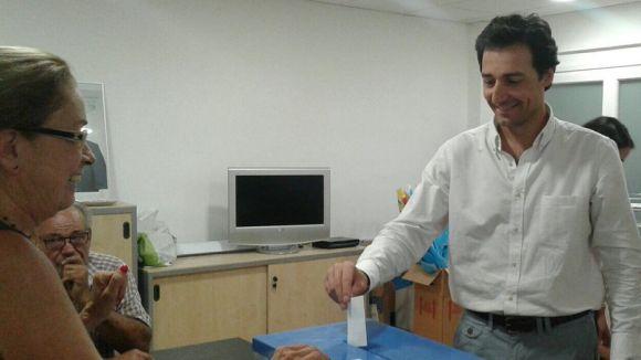 Álvaro Benejam, reelegit president del PP de Sant Cugat per unanimitat