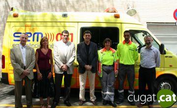 El CAP Valldoreix ja té un servei d'ambulància per a emergències