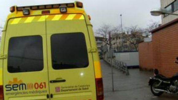 El transport mèdic urgent, en vaga indefinida