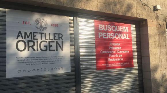 Ametller Origen busca personal per a una nova botiga a Sant Cugat