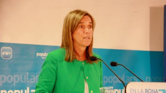 Ana Mato, a l'estrena d'un nou tractament elaborat per Ferrer i el CNIC