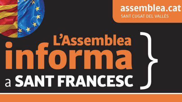 Sant Cugat per la Independència farà campanya dissabte a Sant Francesc