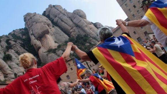 L'ANC canvia el recorregut de la marxa que s'obrirà a Gran Via amb passeig de Gràcia