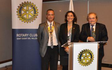 El Rotary Club reconeix la implicació local de l'ANC amb el Premi Venus