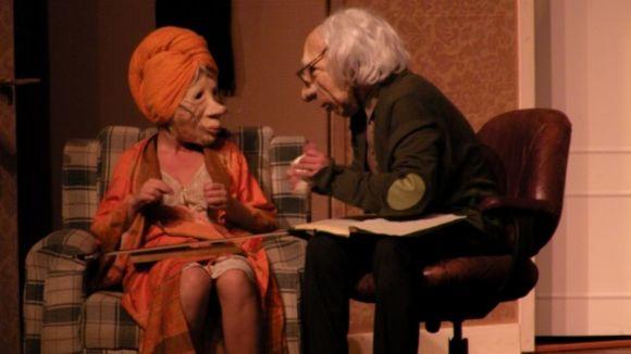 El Teatre-Auditori acull avui 'André i Dorine', una reflexió sobre la passió en la tercera edat