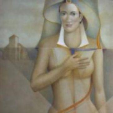 Triplet d'artistes a la nova exposició a la Lluís Ribas