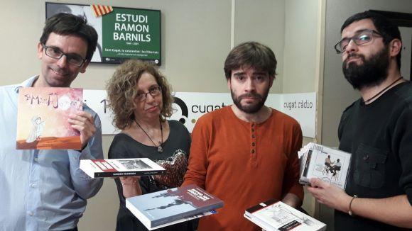 Dani Ruiz-Trillo, Cristina Company, David Vila i un Tal Pere