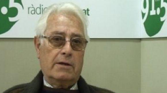 El primer alcalde democràtic de Sant Cugat treballa en la publicació del seu llibre de memòries