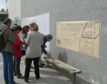 Seguiment desigual de la vaga als centres educatius de la ciutat
