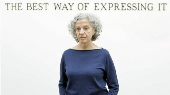 La florestana Àngels Ribé, Premi Nacional de Cultura en Arts Visuals