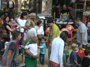 La 7a Festa barri del Monestir converteix els més petits en protagonistes
