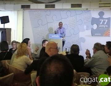 Duran destaca la 'identitat pròpia' d'Unió però amb un projecte comú amb CDC