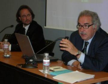 El secretari d'Indústria de la Generalitat elogia el teixit empresarial local en una trobada amb empresaris
