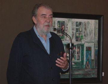 La pintura-collage d'Antoni Vives Fierro torna a Sant Cugat