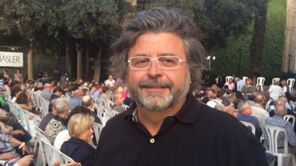 Antoni Castellà també ha estat present a l'acte de la Mesa del Sí
