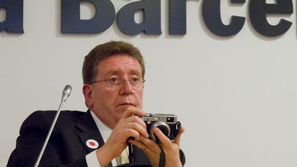 Un santcugatenc, primer director general no japonès de Fujifilm