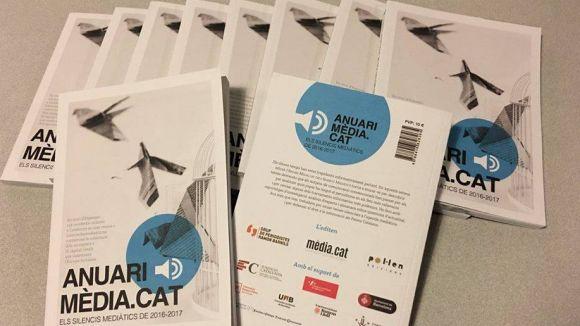 Presentació de l'anuari de Mèdia.cat: 'Els silencis mediàtics del 2019'