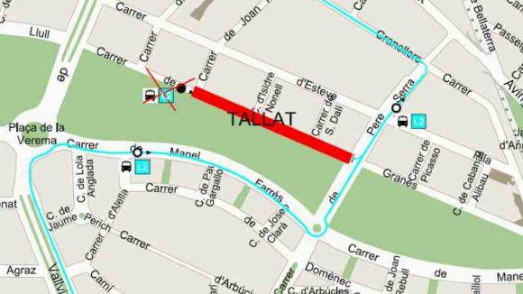 El bus L2 no pararà al carrer de Josep Vidal i Granés fins divendres