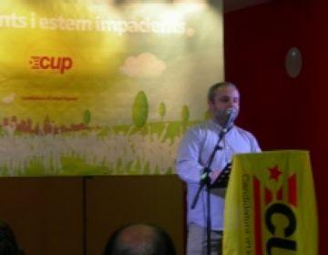 Guim Pros, cap de llista de la CUP per a les eleccions municipals