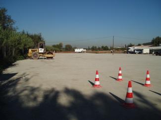 L'equip de govern estudia accelerar el tancament de l'aparcament il·legal de Can Calders