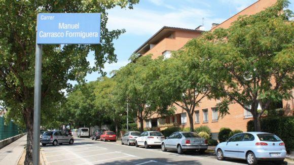 30 places més d'aparcament a l'entorn de la ZEM Jaume Tubau