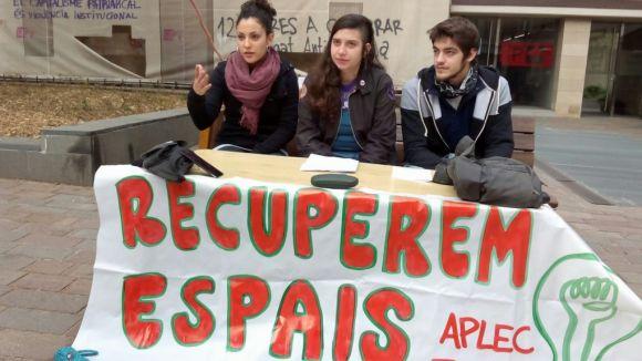 L'Aplec Jove continuarà les mobilitzacions per demanar més espais per al jovent