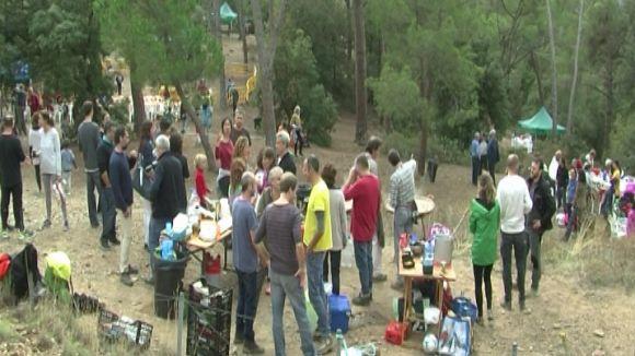 Unes 200 persones es reuneixen a l'Aplec de la Salut tot i el risc de pluja