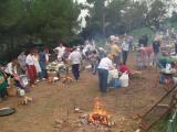 Una de les activitats més participatives va ser el concurs de paelles.