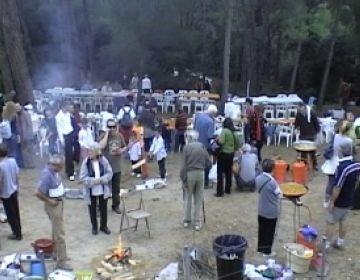 Més de 300 persones es concentren a l'Aplec de la Salut tot i el mal temps