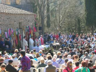 L'ermita de Sant Medir, a punt per a la visita dels santcugatencs
