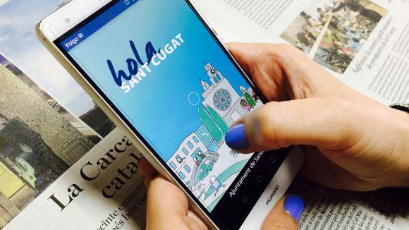L'Ajuntament crea Hola Sant Cugat, una aplicació mòbil per facilitar l'arribada als nouvinguts