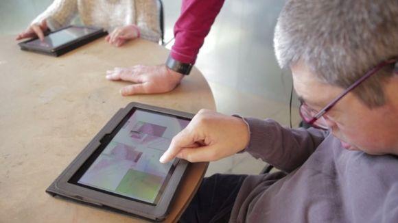 El Taller Jeroni de Moragas, pioner en l'ús d'apps per a la millora neurocognitiva de persones amb discapacitat