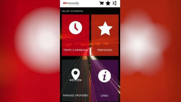 Moventis llança una aplicació per a mòbils per moure's en autobús